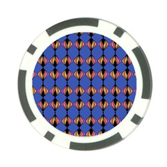 Abstract Lines Seamless Pattern Poker Chip Card Guard