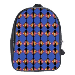 Abstract Lines Seamless Pattern School Bags(large)