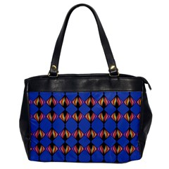 Abstract Lines Seamless Pattern Office Handbags
