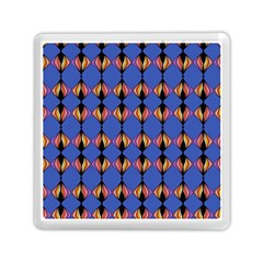 Abstract Lines Seamless Pattern Memory Card Reader (square)