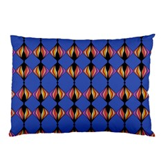 Abstract Lines Seamless Pattern Pillow Case (Two Sides)