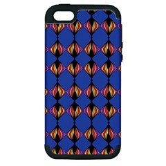 Abstract Lines Seamless Pattern Apple iPhone 5 Hardshell Case (PC+Silicone)