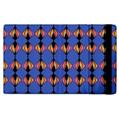 Abstract Lines Seamless Pattern Apple Ipad 3/4 Flip Case