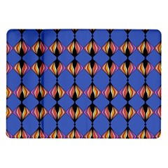 Abstract Lines Seamless Pattern Samsung Galaxy Tab 10.1  P7500 Flip Case