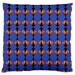 Abstract Lines Seamless Pattern Standard Flano Cushion Case (One Side)