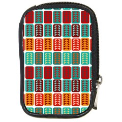 Bricks Abstract Seamless Pattern Compact Camera Cases