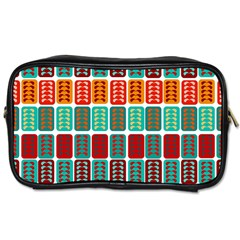 Bricks Abstract Seamless Pattern Toiletries Bags
