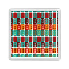 Bricks Abstract Seamless Pattern Memory Card Reader (square)