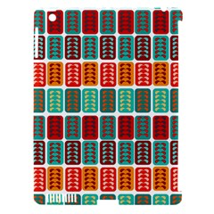 Bricks Abstract Seamless Pattern Apple iPad 3/4 Hardshell Case (Compatible with Smart Cover)