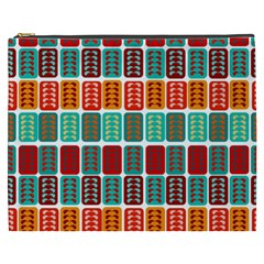 Bricks Abstract Seamless Pattern Cosmetic Bag (xxxl)