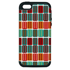 Bricks Abstract Seamless Pattern Apple iPhone 5 Hardshell Case (PC+Silicone)