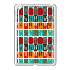Bricks Abstract Seamless Pattern Apple iPad Mini Case (White)