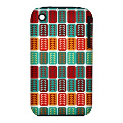 Bricks Abstract Seamless Pattern iPhone 3S/3GS