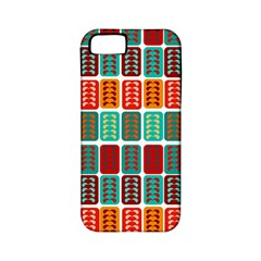 Bricks Abstract Seamless Pattern Apple iPhone 5 Classic Hardshell Case (PC+Silicone)