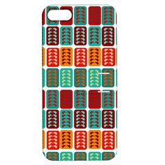 Bricks Abstract Seamless Pattern Apple iPhone 5 Hardshell Case with Stand