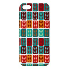 Bricks Abstract Seamless Pattern iPhone 5S/ SE Premium Hardshell Case