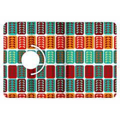 Bricks Abstract Seamless Pattern Kindle Fire HDX Flip 360 Case
