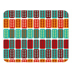 Bricks Abstract Seamless Pattern Double Sided Flano Blanket (Large)