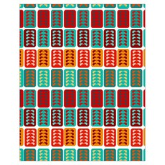 Bricks Abstract Seamless Pattern Drawstring Bag (Small)