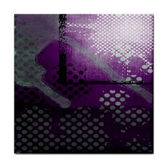 Evil Moon Dark Background With An Abstract Moonlit Landscape Tile Coasters