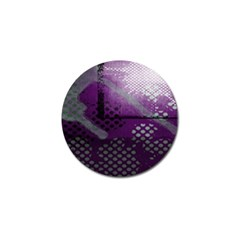 Evil Moon Dark Background With An Abstract Moonlit Landscape Golf Ball Marker (10 Pack)