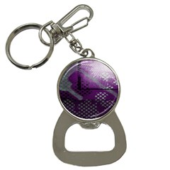 Evil Moon Dark Background With An Abstract Moonlit Landscape Button Necklaces