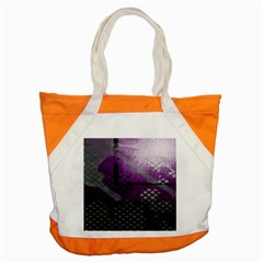 Evil Moon Dark Background With An Abstract Moonlit Landscape Accent Tote Bag