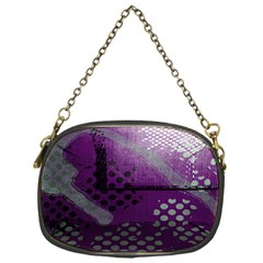 Evil Moon Dark Background With An Abstract Moonlit Landscape Chain Purses (one Side)