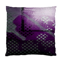 Evil Moon Dark Background With An Abstract Moonlit Landscape Standard Cushion Case (two Sides)