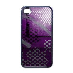 Evil Moon Dark Background With An Abstract Moonlit Landscape Apple Iphone 4 Case (black)