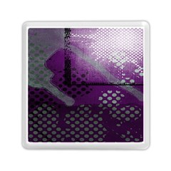 Evil Moon Dark Background With An Abstract Moonlit Landscape Memory Card Reader (square)