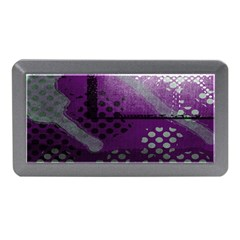 Evil Moon Dark Background With An Abstract Moonlit Landscape Memory Card Reader (Mini)