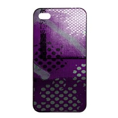 Evil Moon Dark Background With An Abstract Moonlit Landscape Apple Iphone 4/4s Seamless Case (black)