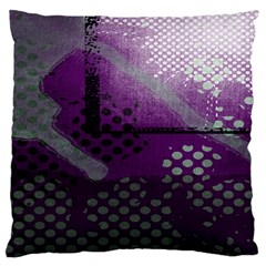 Evil Moon Dark Background With An Abstract Moonlit Landscape Large Cushion Case (Two Sides)