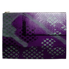 Evil Moon Dark Background With An Abstract Moonlit Landscape Cosmetic Bag (XXL)