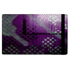 Evil Moon Dark Background With An Abstract Moonlit Landscape Apple iPad 2 Flip Case
