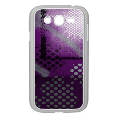 Evil Moon Dark Background With An Abstract Moonlit Landscape Samsung Galaxy Grand Duos I9082 Case (white)