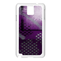 Evil Moon Dark Background With An Abstract Moonlit Landscape Samsung Galaxy Note 3 N9005 Case (White)