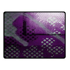 Evil Moon Dark Background With An Abstract Moonlit Landscape Double Sided Fleece Blanket (small)