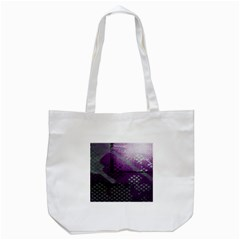 Evil Moon Dark Background With An Abstract Moonlit Landscape Tote Bag (White)