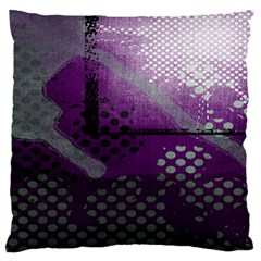 Evil Moon Dark Background With An Abstract Moonlit Landscape Large Flano Cushion Case (two Sides)