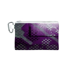 Evil Moon Dark Background With An Abstract Moonlit Landscape Canvas Cosmetic Bag (s)