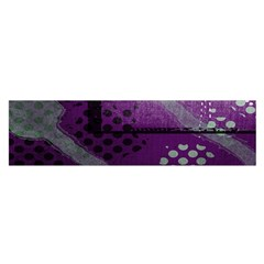 Evil Moon Dark Background With An Abstract Moonlit Landscape Satin Scarf (oblong)
