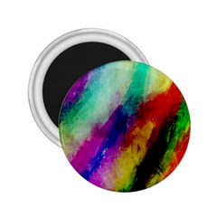 Colorful Abstract Paint Splats Background 2 25  Magnets
