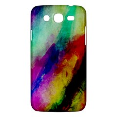 Colorful Abstract Paint Splats Background Samsung Galaxy Mega 5.8 I9152 Hardshell Case