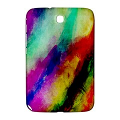 Colorful Abstract Paint Splats Background Samsung Galaxy Note 8.0 N5100 Hardshell Case