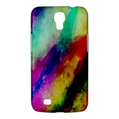 Colorful Abstract Paint Splats Background Samsung Galaxy Mega 6.3  I9200 Hardshell Case