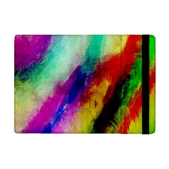 Colorful Abstract Paint Splats Background iPad Mini 2 Flip Cases