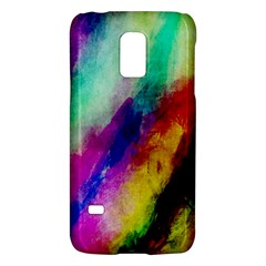 Colorful Abstract Paint Splats Background Galaxy S5 Mini