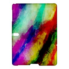 Colorful Abstract Paint Splats Background Samsung Galaxy Tab S (10.5 ) Hardshell Case